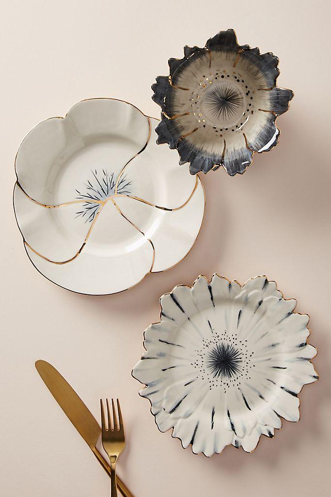Papetal Floral Plate