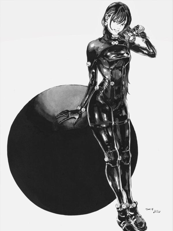 Reika Shimohira ( Gantz O ) x Jisu Kim