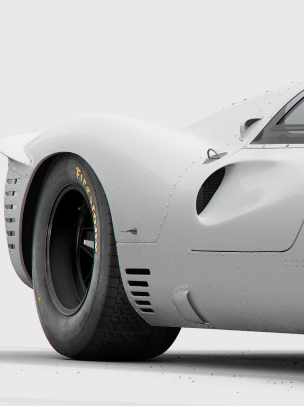 Ferrari 330 P4 x Studio INK