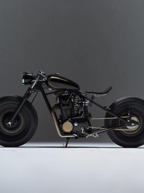 Yamaha XS650 custom bobber