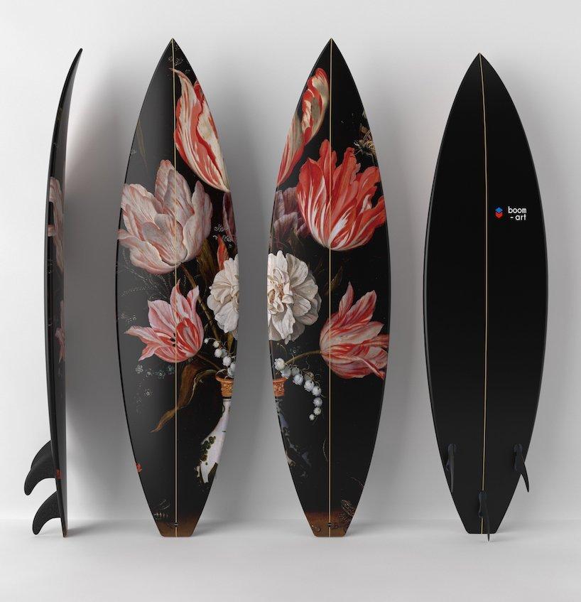 Boom Art x UWL surfboard