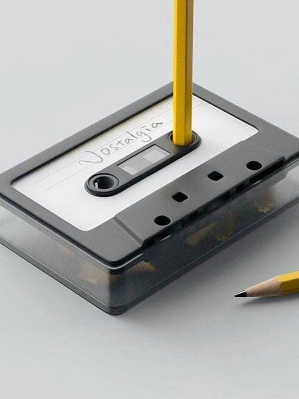 Nostalgia pencil sharpener