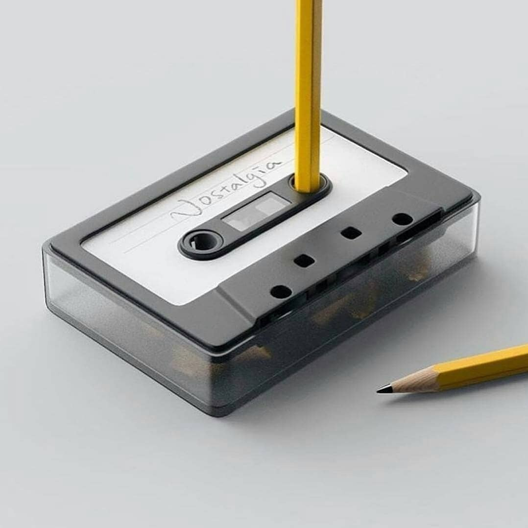 Nostalgia pencil sharpener