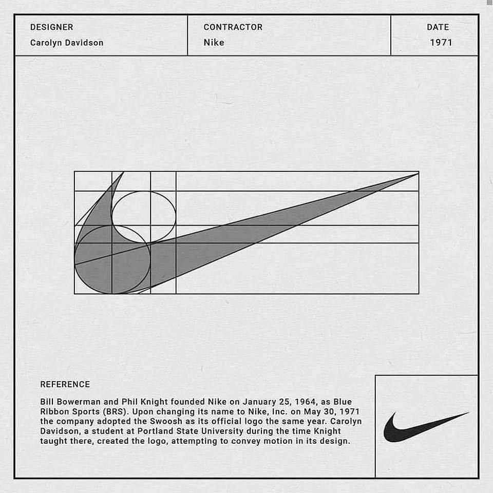 Nike x Carolyn Davidson