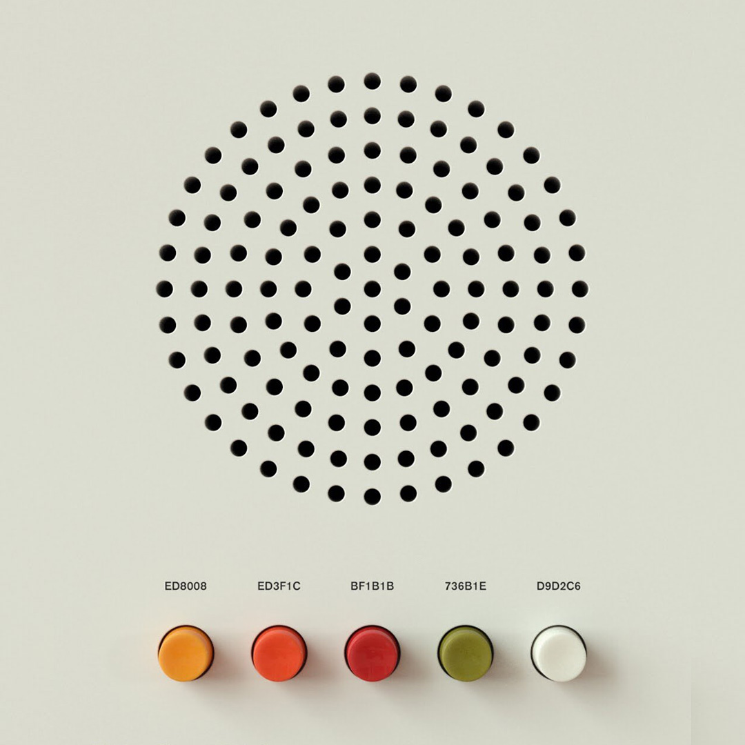 Dieter Rams palettes