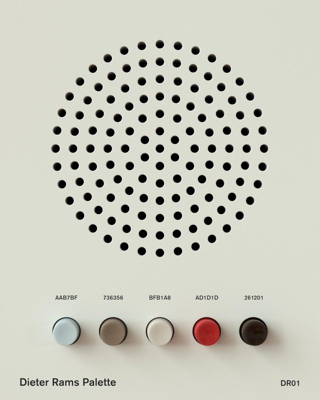 Dieter Rams palettes