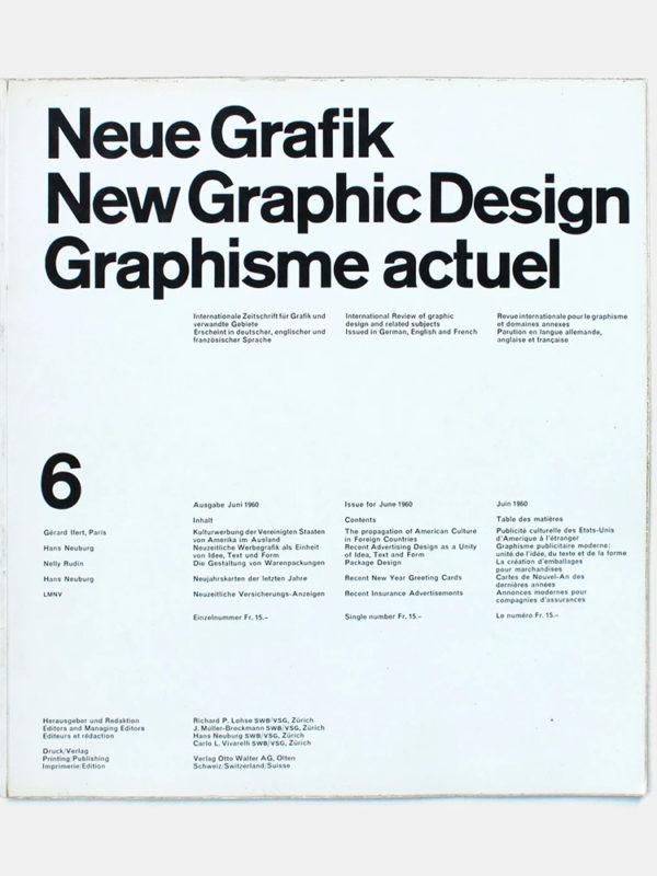 Neue Grafik 1960
