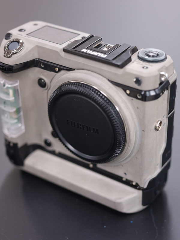 Pre-production Fujifilm GFX100