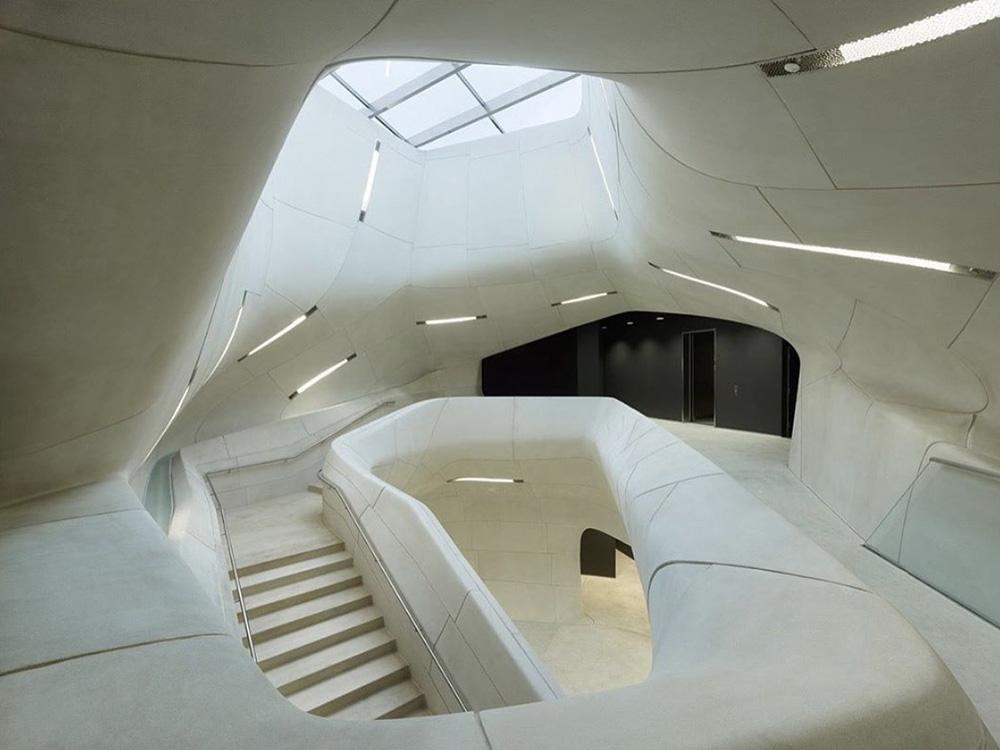 Organic futurist stairway