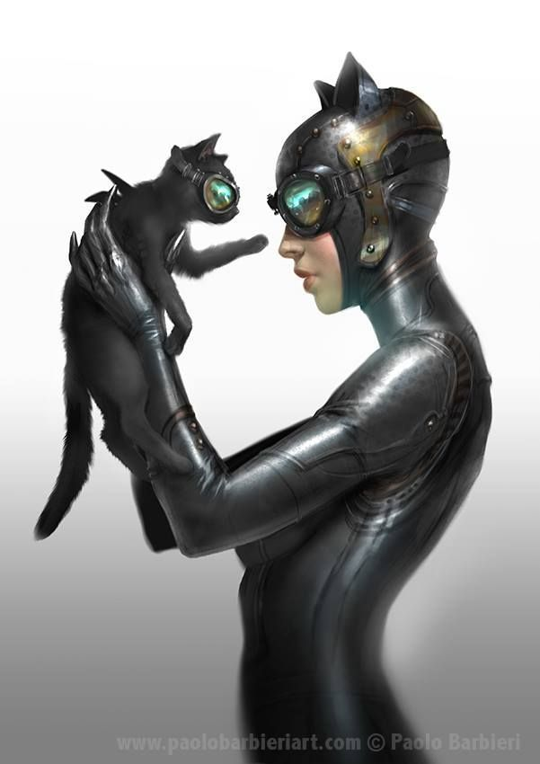 Catwoman x Paolo Barbieri