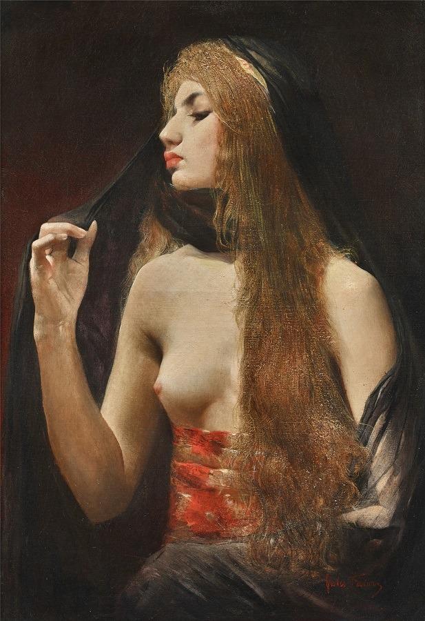 Woman from Topkapi x Jules Abel Faivre