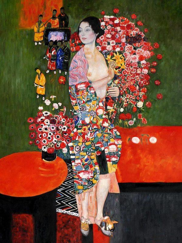 Die Tänzerin x Gustav Klimt