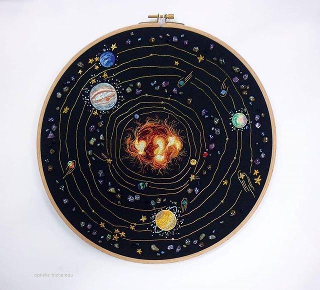 Solar System x Ophelie Trichereau