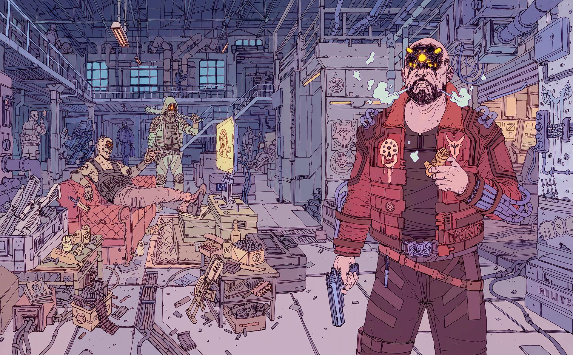 Cyberpunk 2077 x Josan Gonzalez