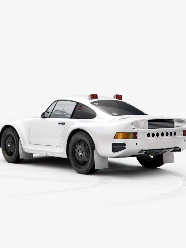 Paris-Dakar Rally Porsche 959