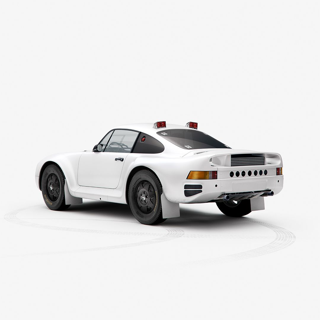 Paris-Dakar Rally Porsche 959