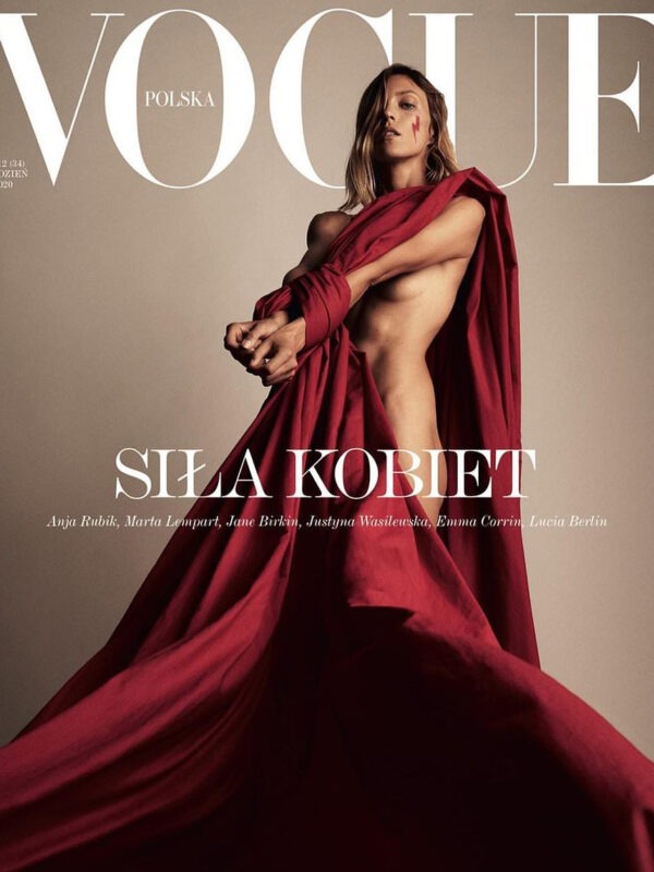 Anja Rubik x Vogue Poland