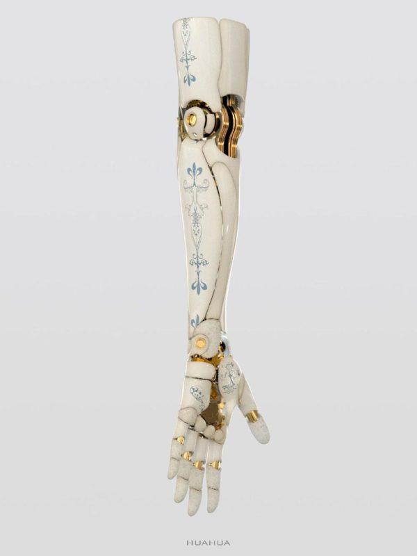 Alita's doll arm