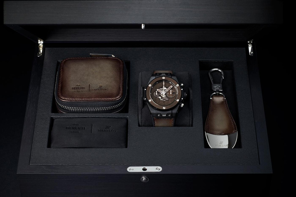 Hublo Unico Berluti Cold Brown watch