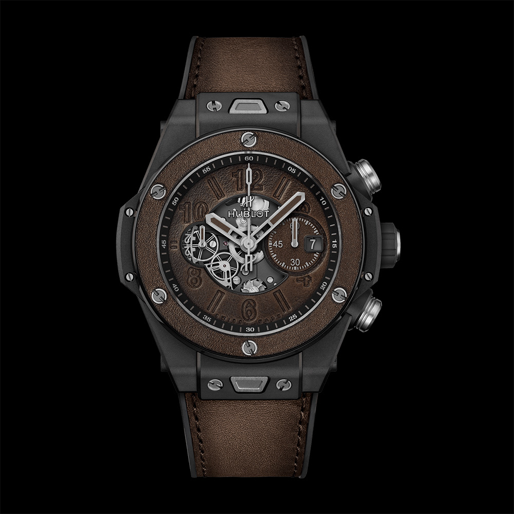 Hublo Big Bang Unico Berluti Cold Brown watch
