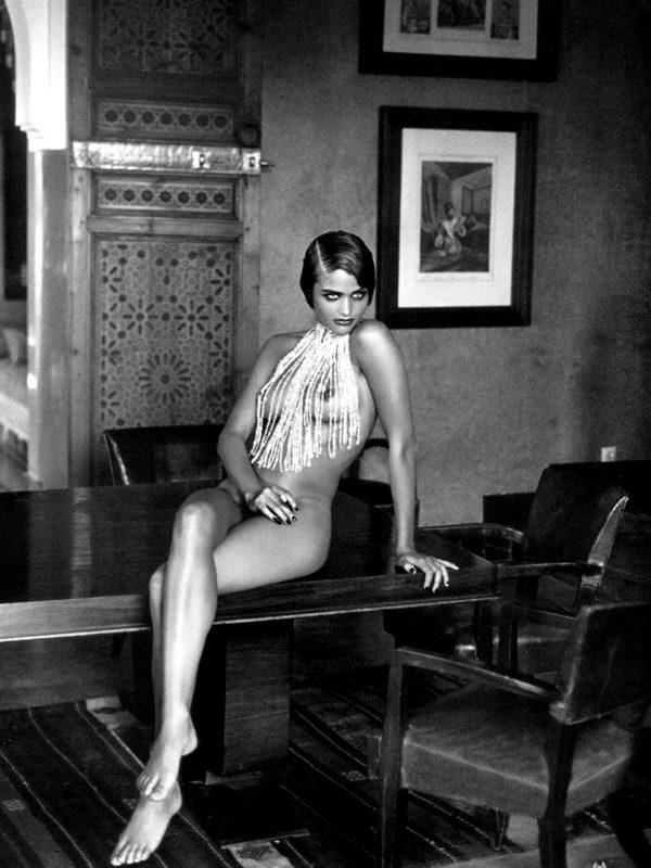 Helena Christensen x Peter Lindbergh