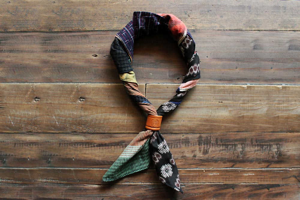 Kiriko patchwork bandana
