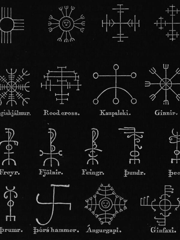 Icelandic Magical Staves