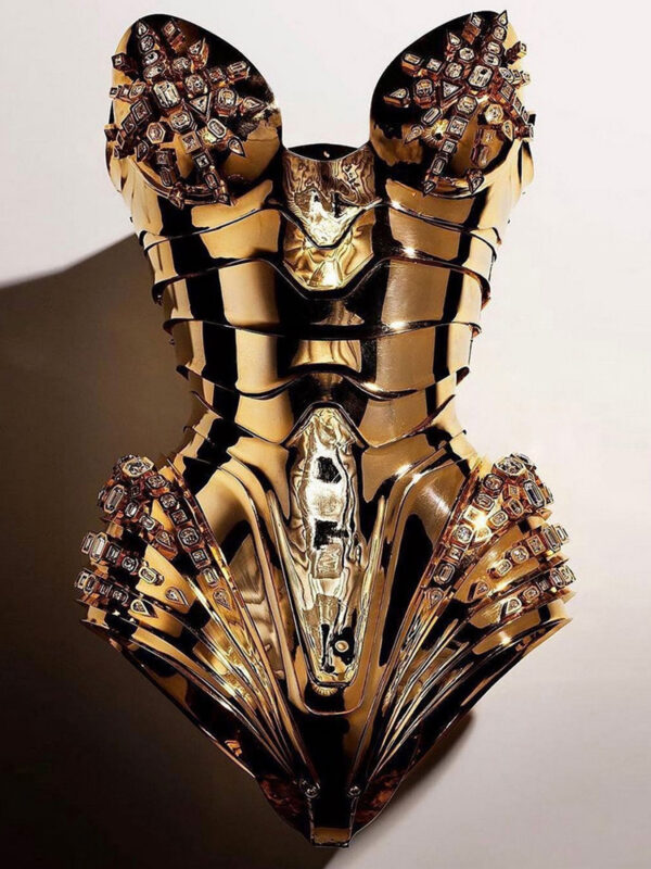 Thierry Mugler corset