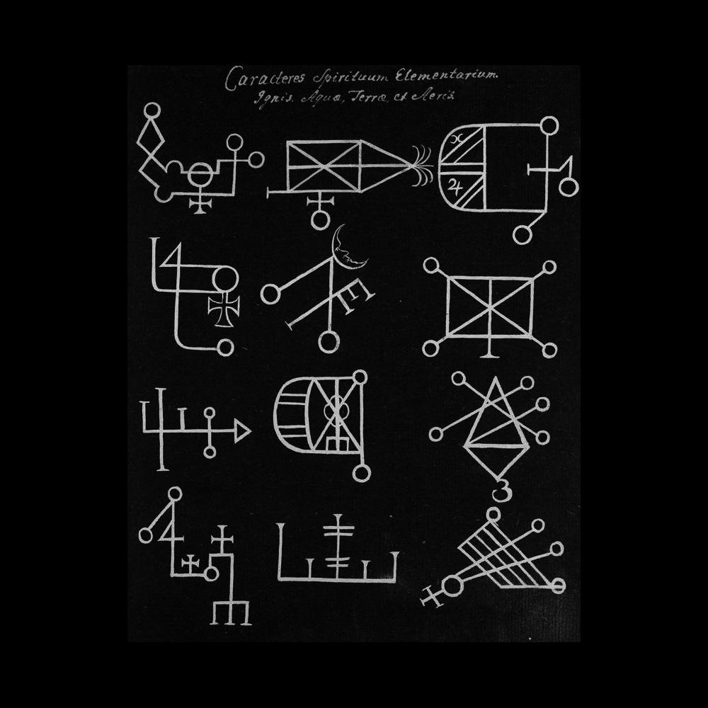 Caracteres Spirituum Elementarium