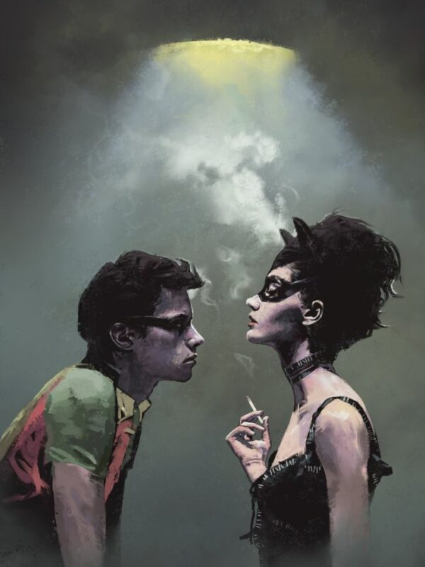Catwoman and Robin