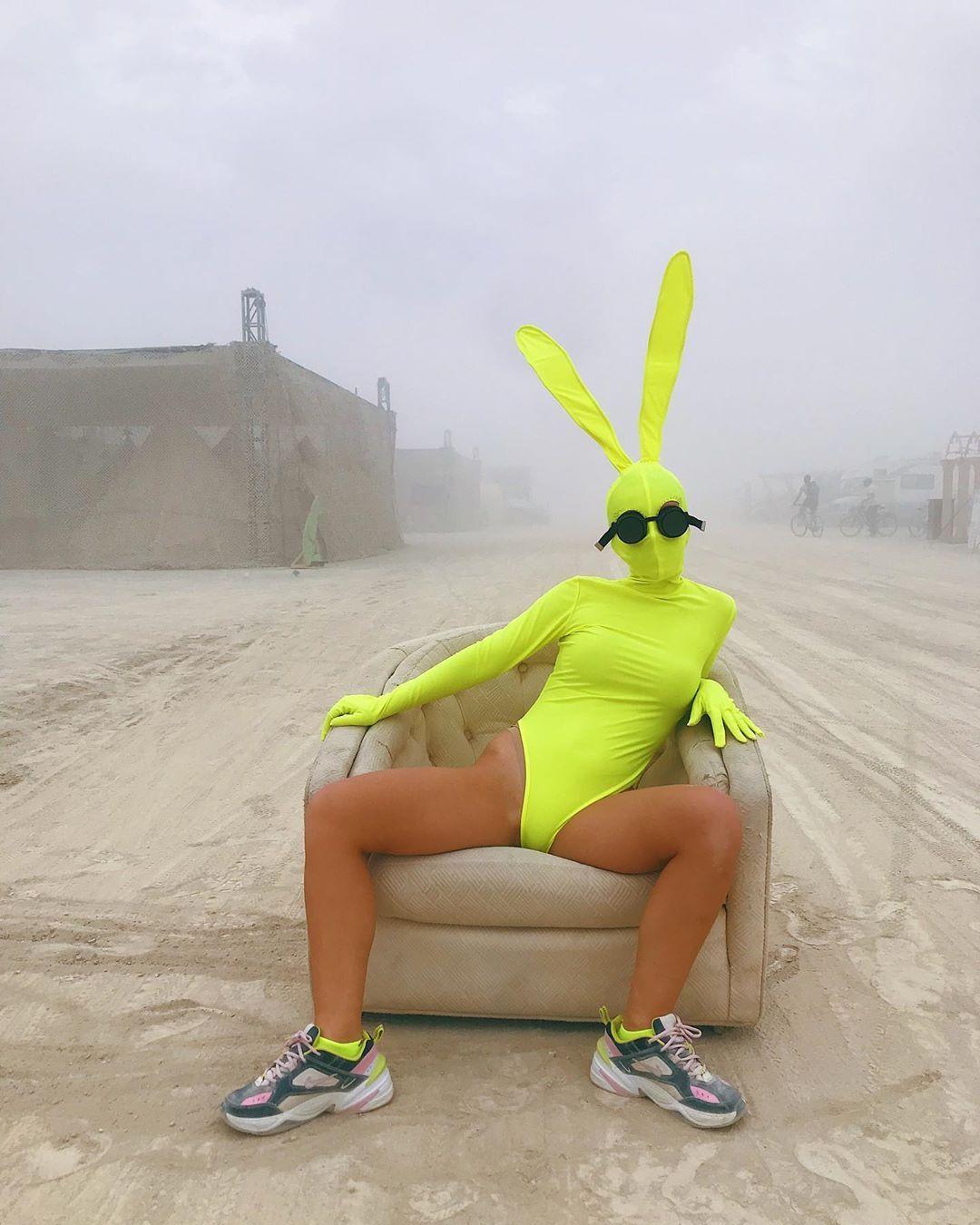 Burning Man Bunny