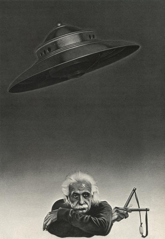 Einstein vs aliens
