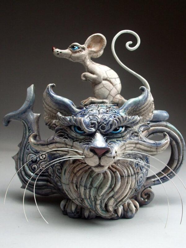 Cat and Rat teapot