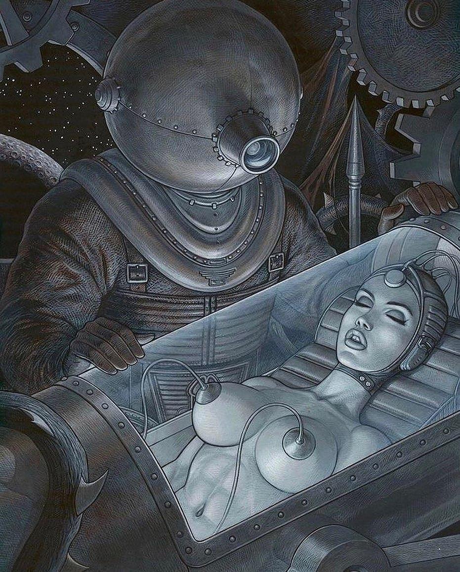 Astrowoman x Fred Beltran