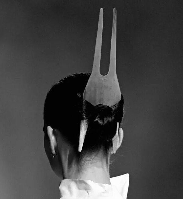 Rick Owens hair comb