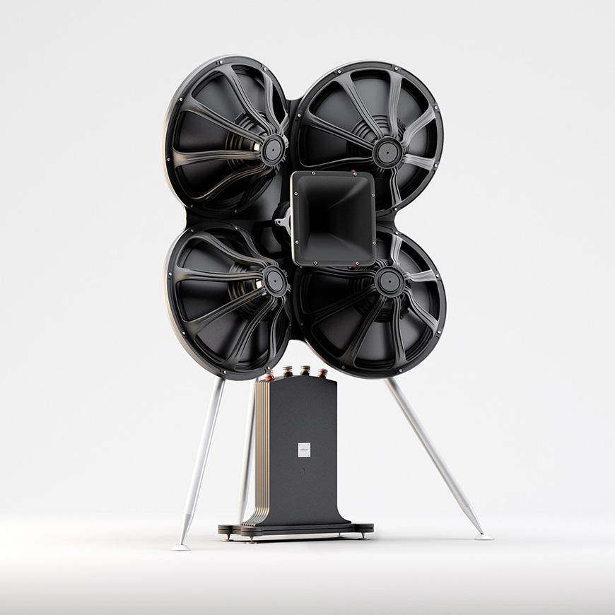 Reflector Bespoke P18 speaker