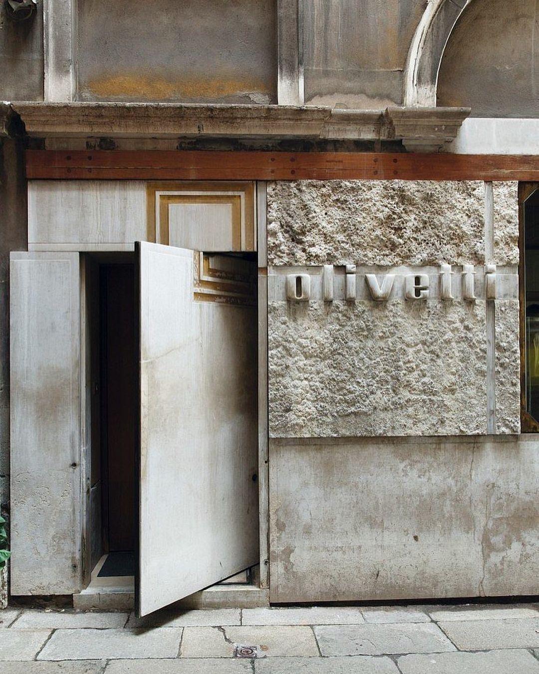 Negozio Olivetti x Carlo Scarpa