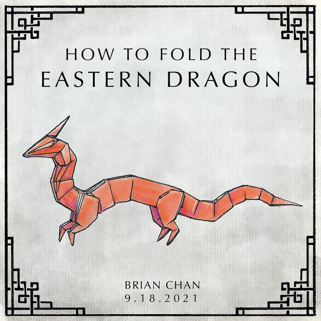 How to fold the eastern dragon