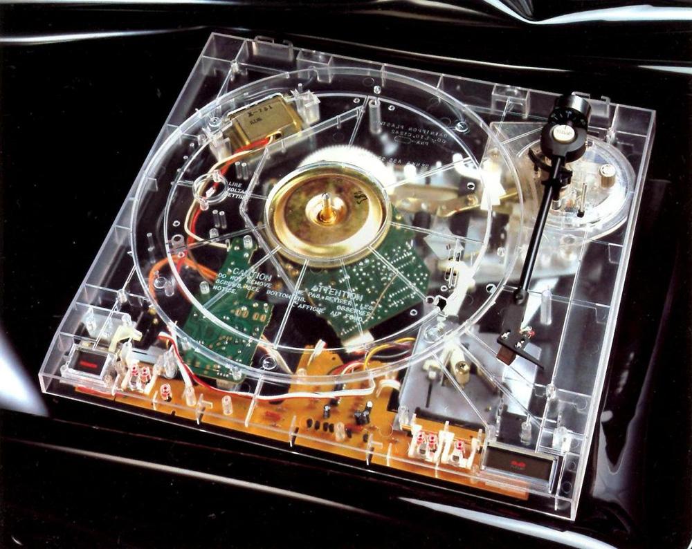 Pioneer Transparent Turntable