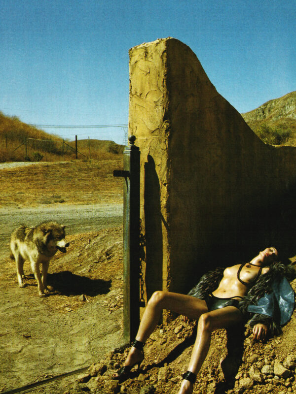 Missy Rayde x Steven Meisel