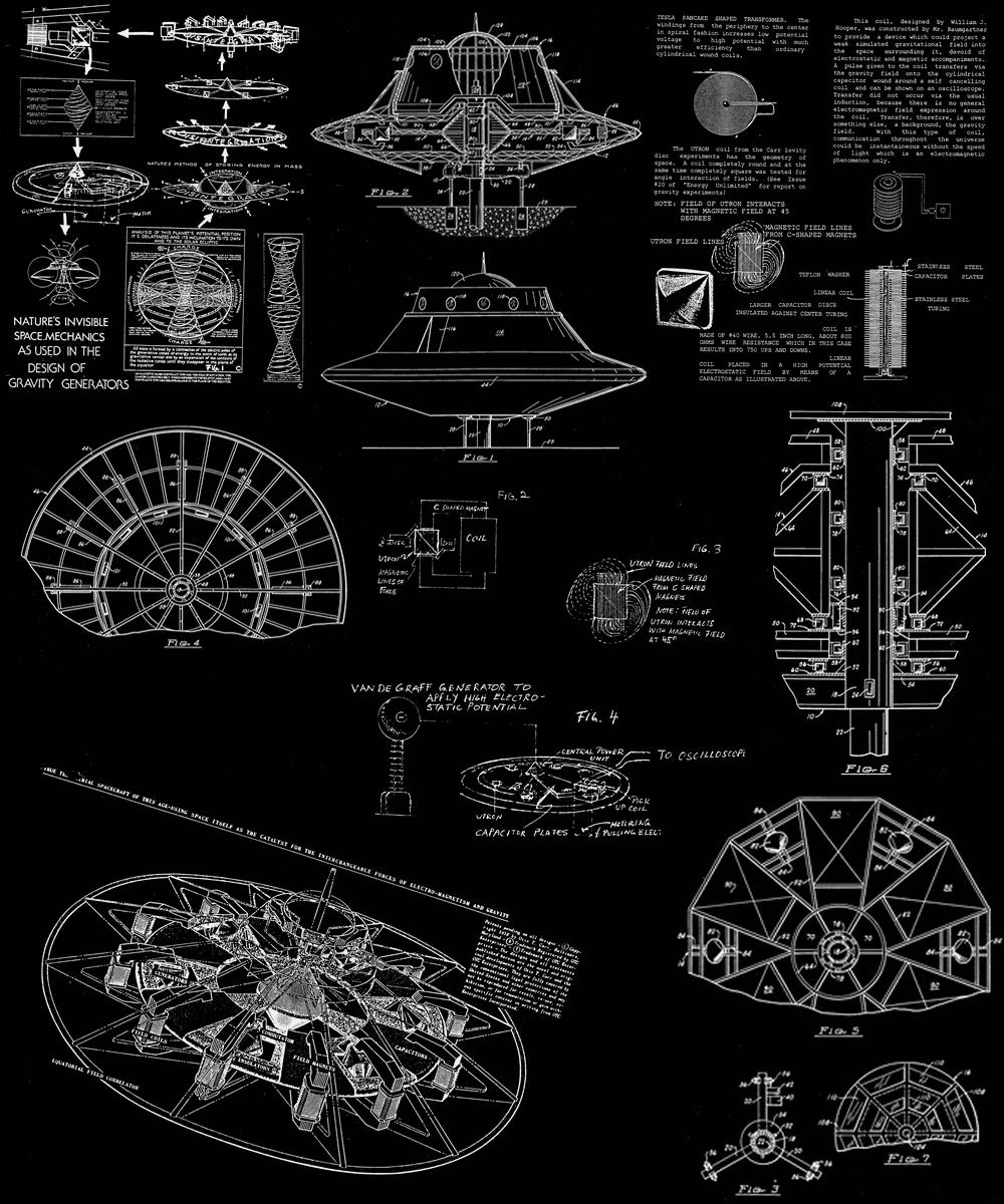 Otis T. Carr : OTC X-1 flying disk