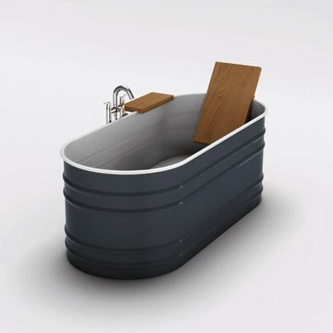 Agape modern rustic bath tub