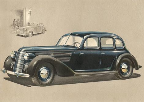 Auto Union sales brochures 1939