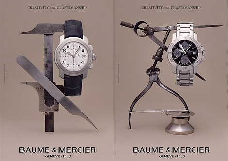 Baume & Mercier ads