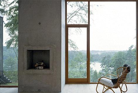 Forest cabin - interior