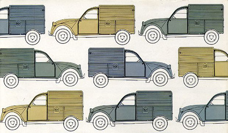 Citroën 2cv Brochure Archive