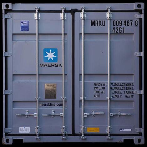 Container typography
