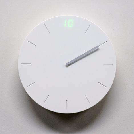 Digilog clock