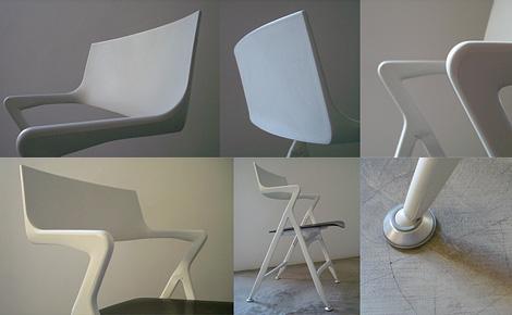 Dolly folding chair