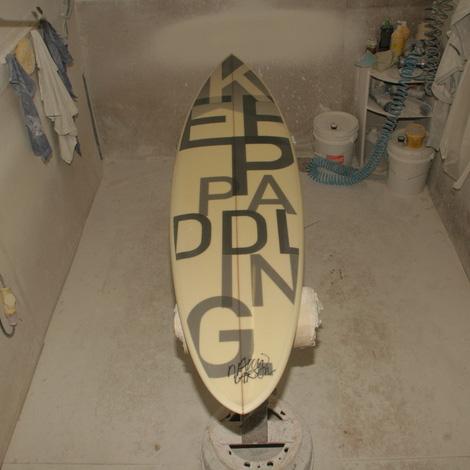 David Carson surfboard